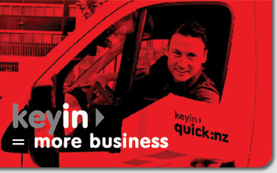 keyin = more sales